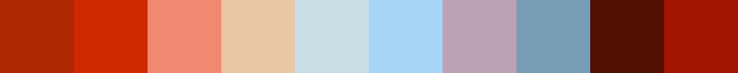 182 Fijicopia Color Palette
