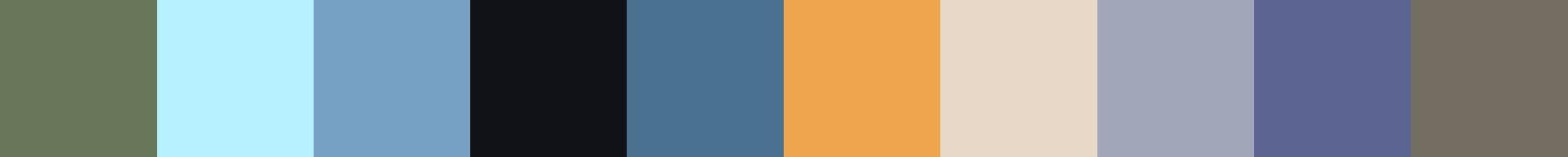 183 Hasarmia Color Palette