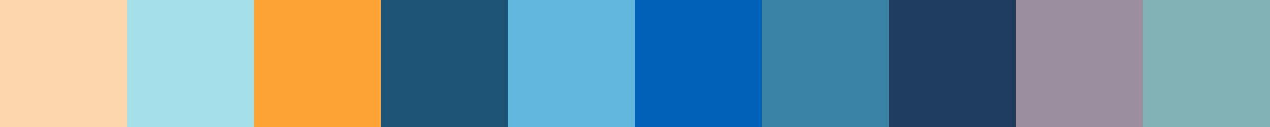 204 Axotopia Color Palette