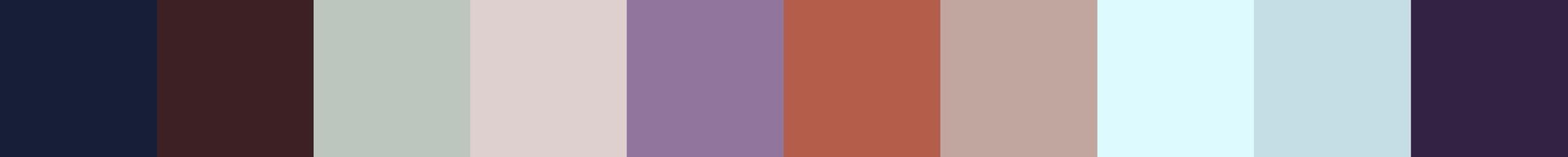 205 Diavapia Color Palette