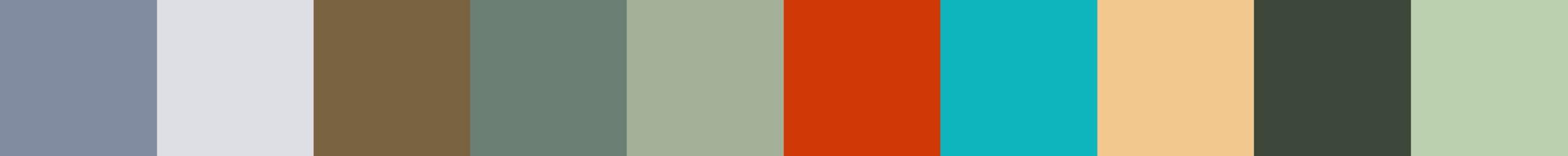 210 Ciadenta Color Palette