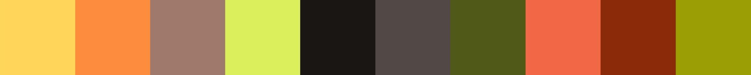 214 Ziolakea Color Palette