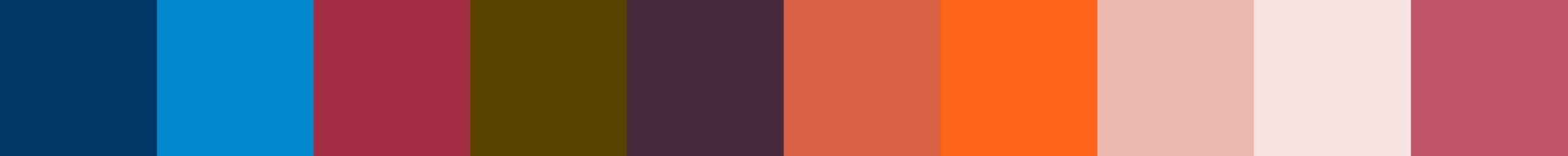 226 Bozaqua Color Palette