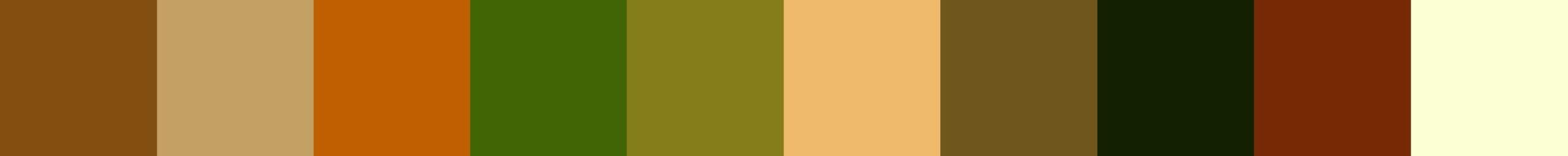 234 Deripapa Color Palette