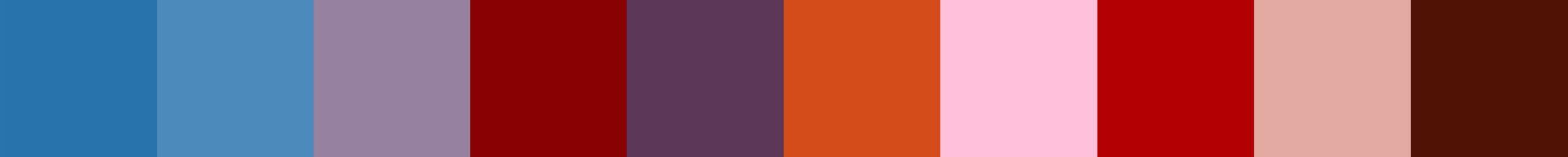 241 Facalopia Color Palette