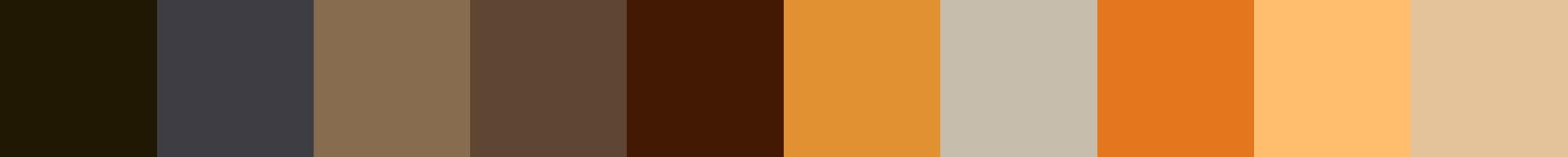 244 Tigrea Color Palette