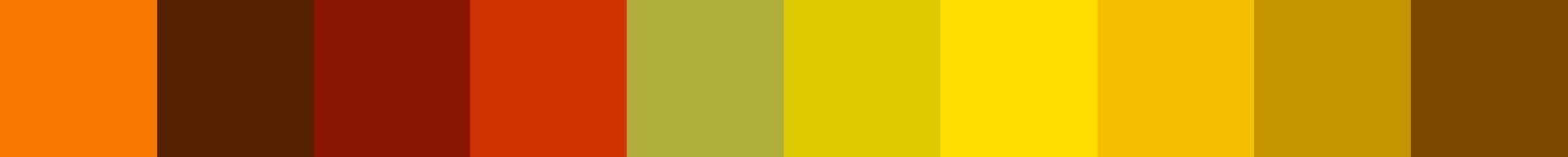 25 Yiolico Color Palette