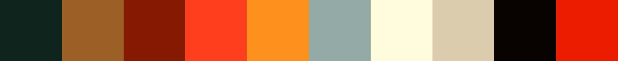 262 Franticela Color Palette
