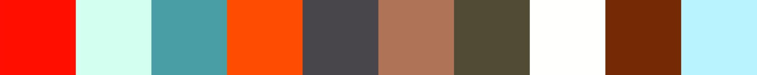 278 Partiawa Color Palette