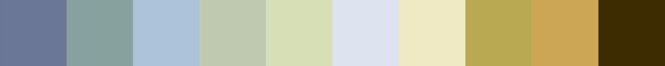 281 Antedafia Color Palette