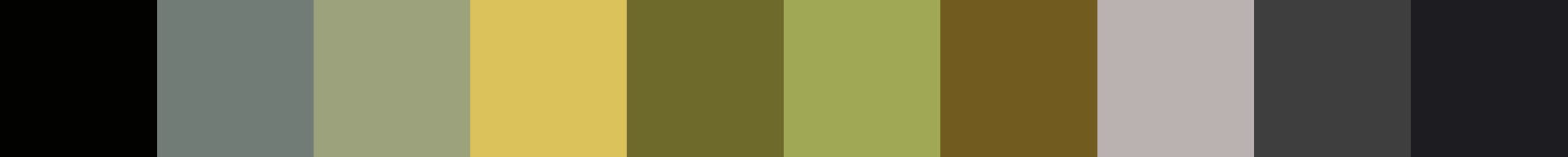304 Mpolokia Color Palette