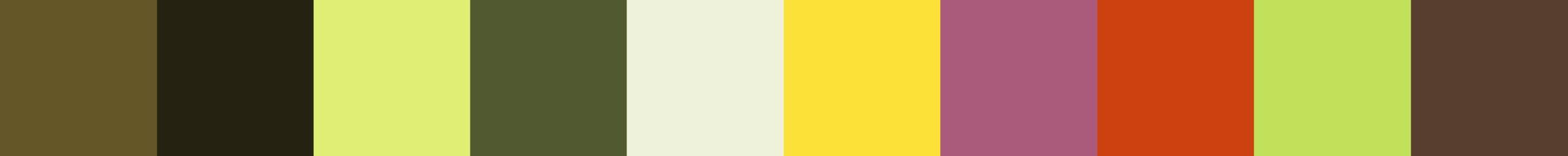 32 Reniae Color Palette