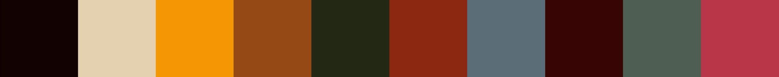 33 Fabiaza Color Palette