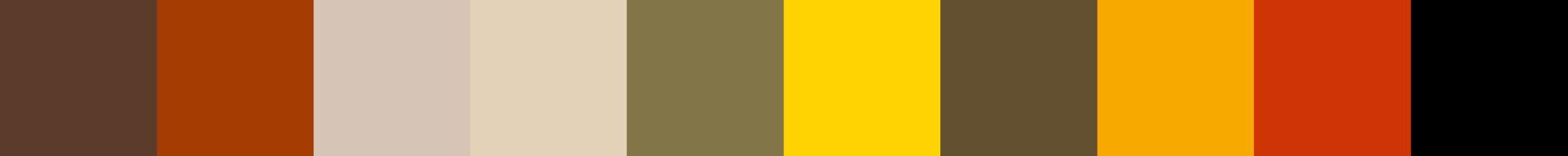 335 Alistante Color Palette