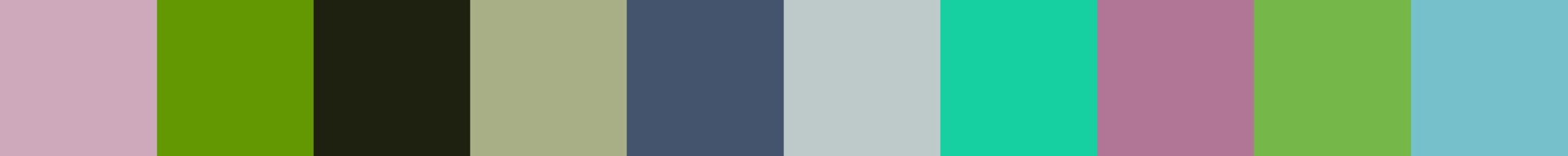 336 Gentomia Color Palette