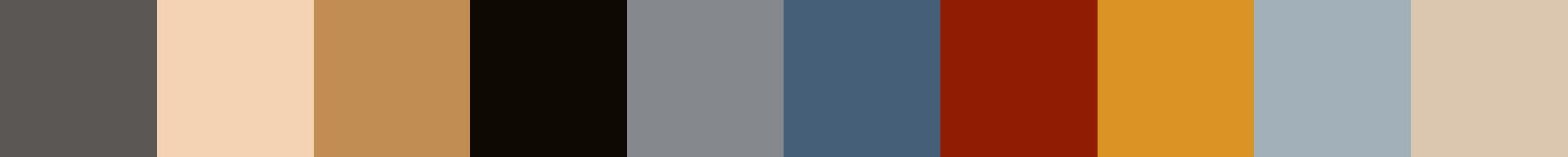 342 Collosea Color Palette