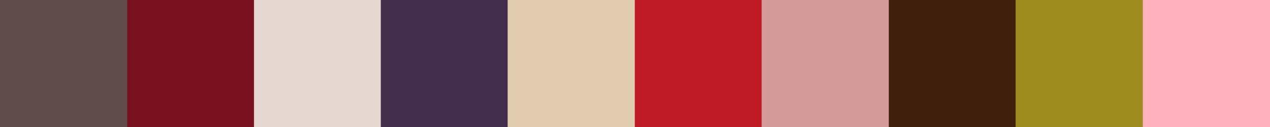 410 Coqora Color Palette