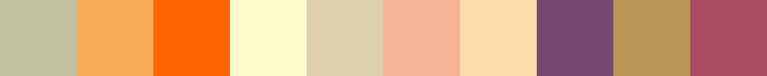 428 Somoa Color Palette