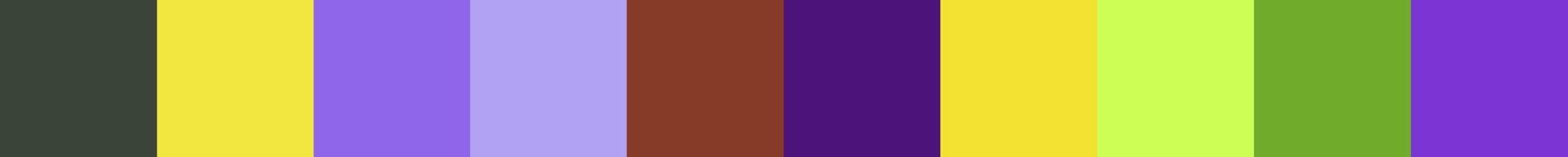 458 Loudia Color Palette