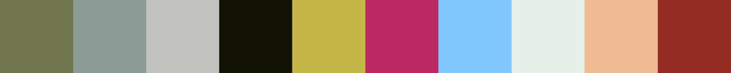 480 Fanolpia Color Palette