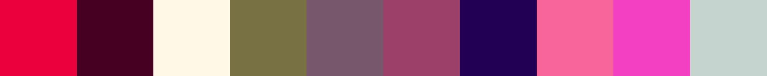 483 Neaselia Color Palette