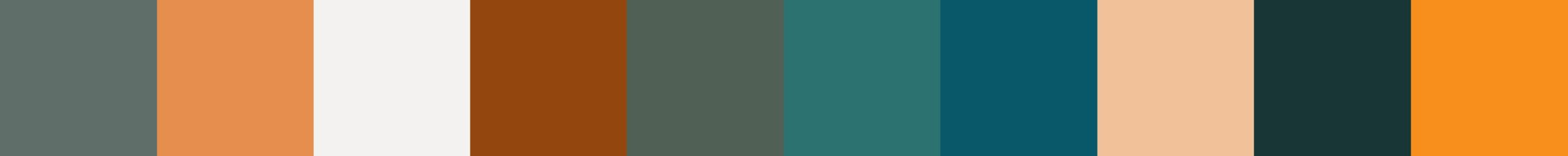 532 Kalah Color Palette