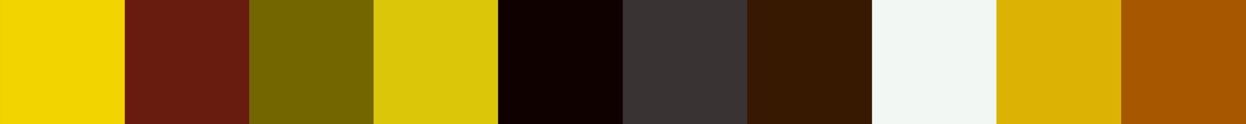 54 Beviala Color Palette