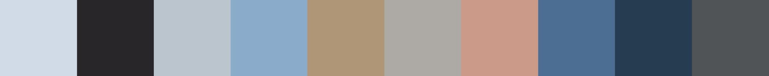 591 Kamali Color Palette