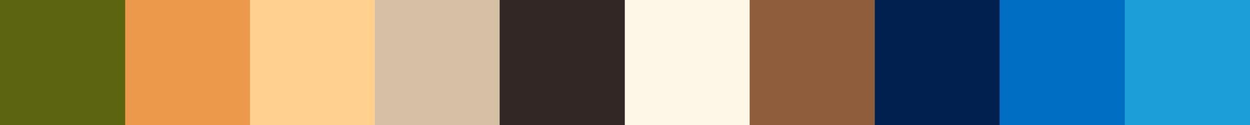 601 Elesia Color Palette