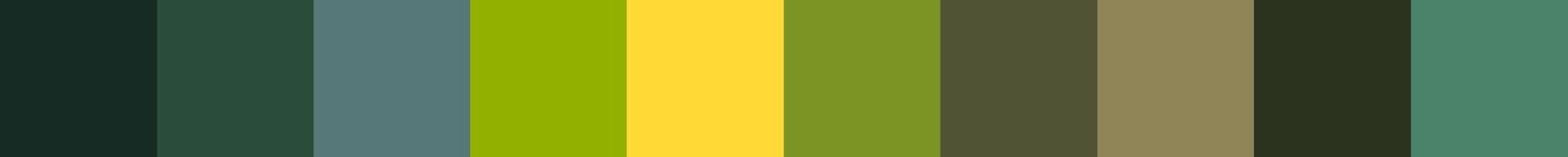 605 Gronoua Color Palette