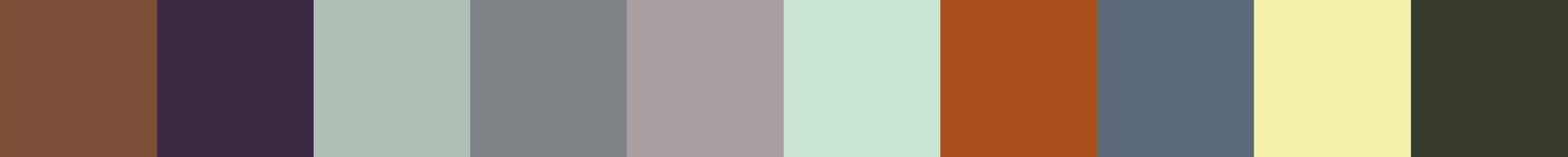 606 Hakeberia Color Palette