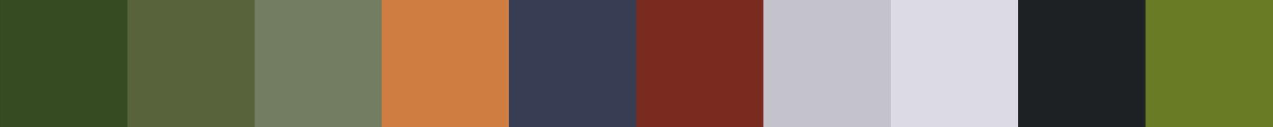 614 Frabika Color Palette