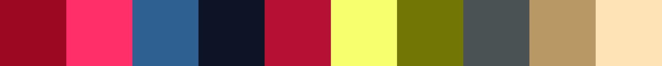 615 Steviaxa Color Palette