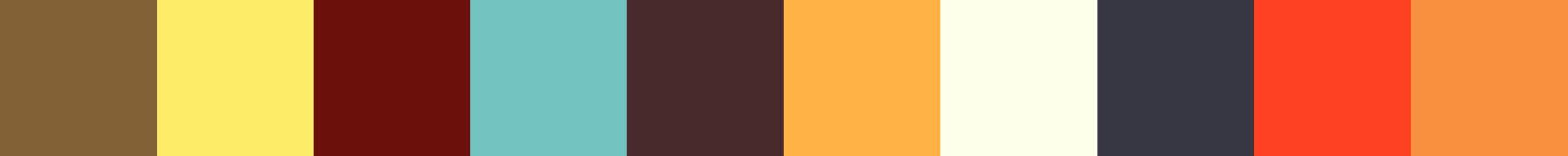 621 Fermaniona Color Palette