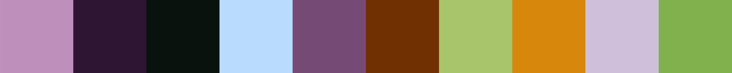 632 Lufcia Color Palette