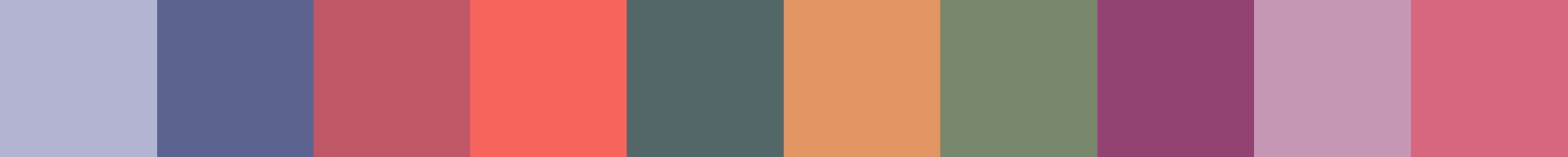 633 Cemetrita Color Palette