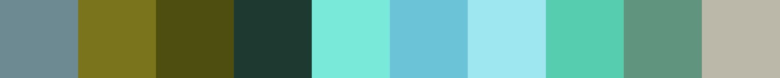 644 Gaelica Color Palette