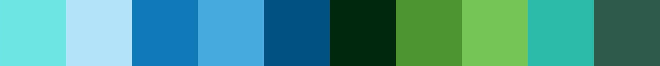 649 Orenda Color Palette