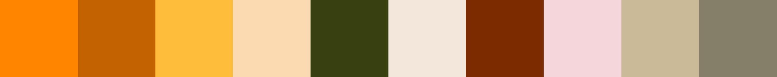 652 Olesia Color Palette