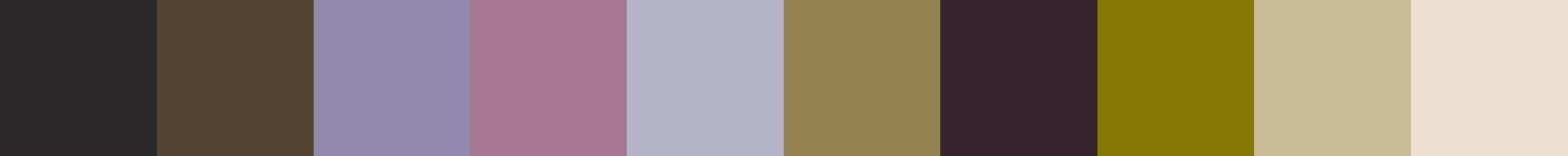 664 Zistela Color Palette