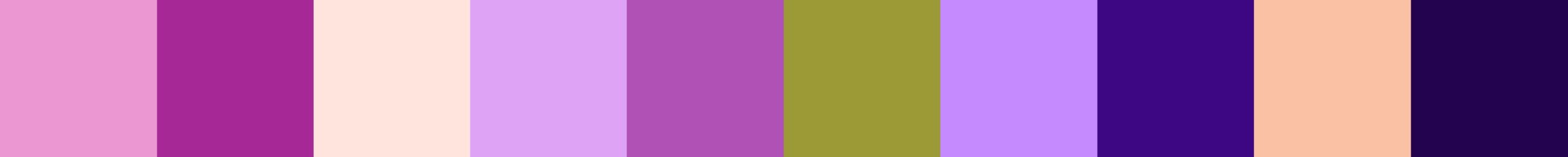 68 Nilaria Color Palette