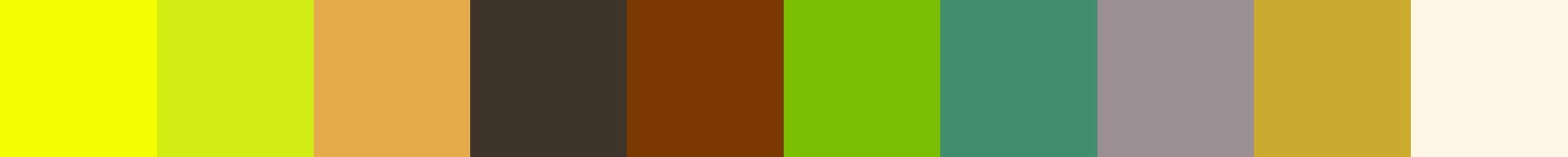 689 Fortia Color Palette