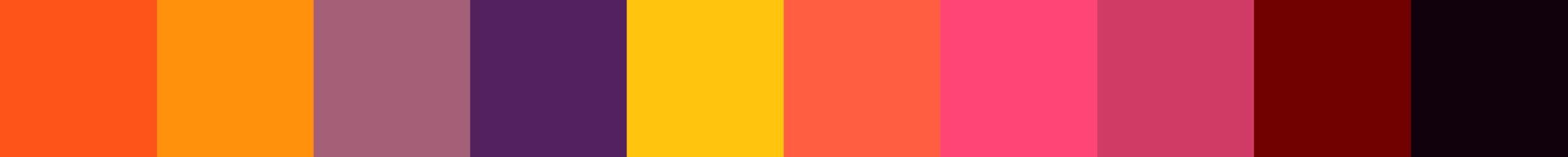 71 Demepia Color Palette