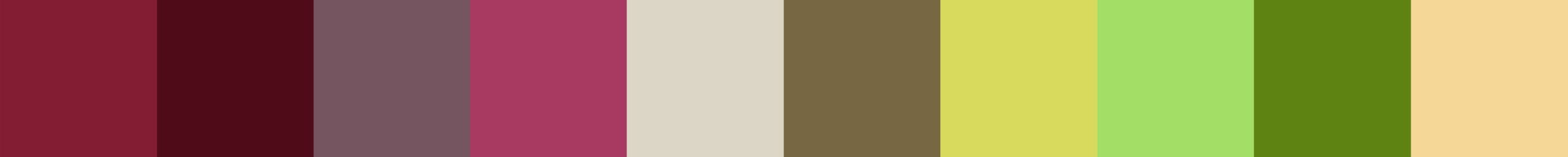 718 Lilirama Color Palette