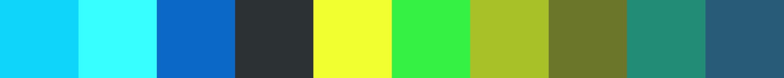 719 Wholoa Color Palette