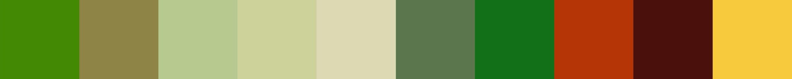 722 Trepanoxia Color Palette