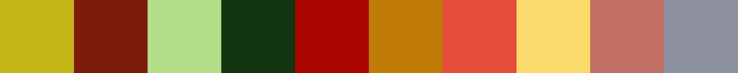 731 Brejofirata Color Palette