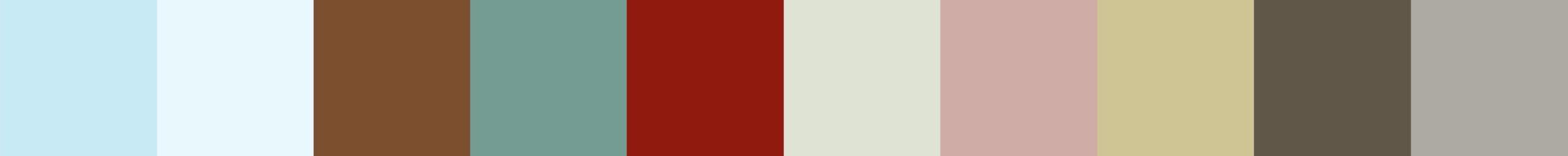 743 Jernita Color Palette