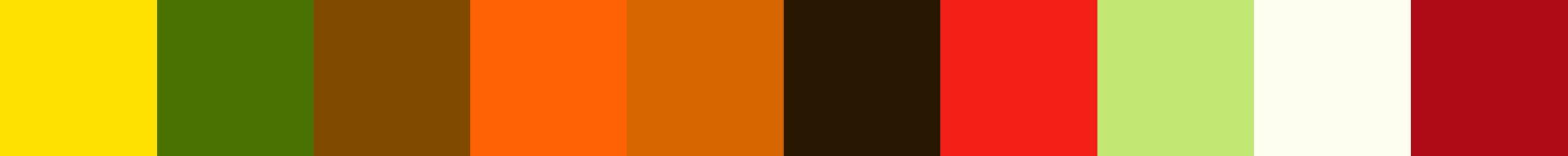 755 Kyania Color Palette