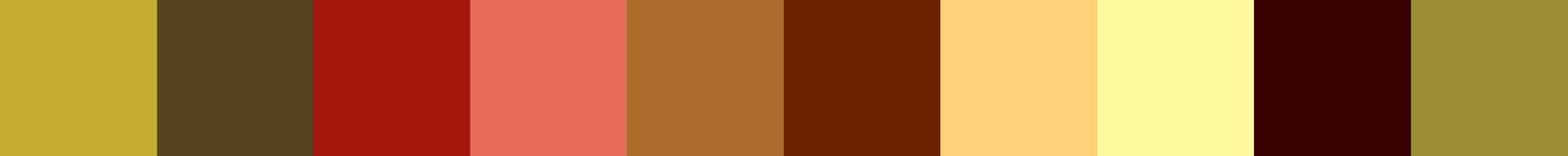 781 Primatura Color Palette